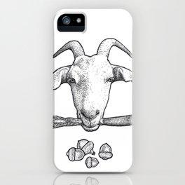 Billy Goat Gruff iPhone Case