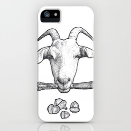 Billy Goat Gruff iPhone Case
