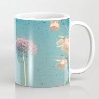 garden Mugs featuring Garden by Cassia Beck