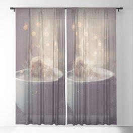 Snuggery Sheer Curtain