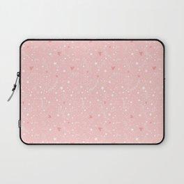 Pink stars Laptop Sleeve