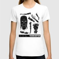 terminator T-shirts featuring Decommissioned: Terminator  by Josh Ln