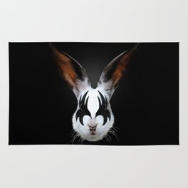Kiss of a Rabbit Rug