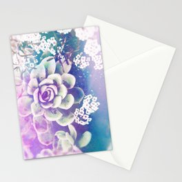 Echeveria Stationery Cards