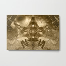 """Outsteller Exploration of Interspace"", by Brock Springstead Metal Print"
