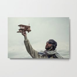 Dreamy aviator Metal Print
