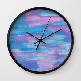 Oceans and Sky Wall Clock