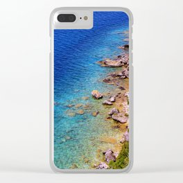 Lions Head Clear iPhone Case