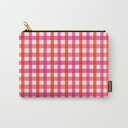 Gingham: Strawberry Flavor Carry-All Pouch