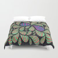 bugs Duvet Covers featuring Bugs by Sarah J Bierman