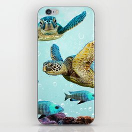 Sea Turtles iPhone Skin