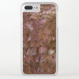 Ruffles Pattern bywhacky Clear iPhone Case