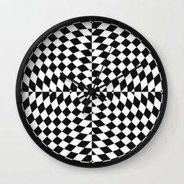 Trippy Star Wall Clock