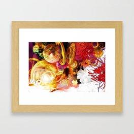 Ode to Homura Framed Art Print