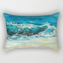 Turquoise waters Rectangular Pillow