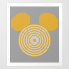 Grid Mouse 1.0 (Clu Variant) Art Print