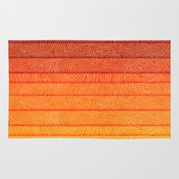 sunrise Area & Throw Rugs featuring Sunrise by Diogo Verissimo