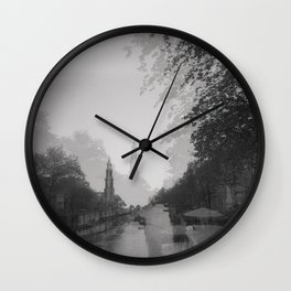Double Vision: Amsterdam Wall Clock