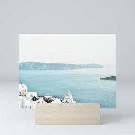 Greece Thera View Mini Art Print