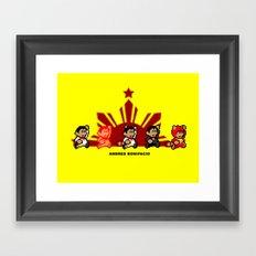 8-bit Andres Bonifacio 2 Framed Art Print