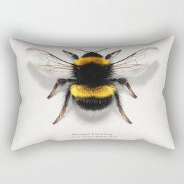 Bombus Lucorum Rectangular Pillow