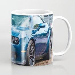 Sea Blue Challenger SRT Redeye Hellcat Demon Widebody Coffee Mug