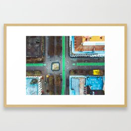 Kaunas Freedom Avenue Framed Art Print