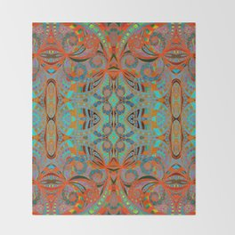 Ethnic Style G250 Throw Blanket