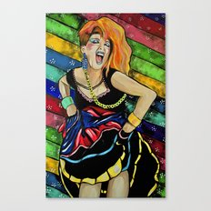 True Colors- Cyndi Lauper  Canvas Print