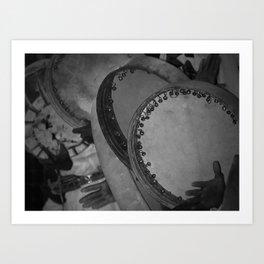 Saudi Drums Art Print