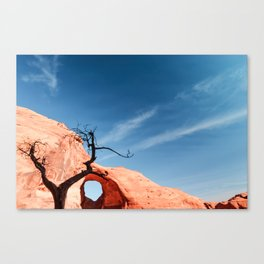 The Ear Of The Wind - Monument Valey Canvas Print