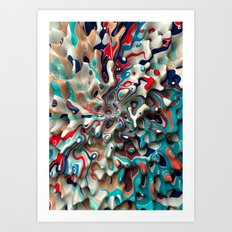 Weird Surface Art Print