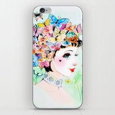 Thoughts A-Flutter iPhone & iPod Skin