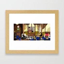 Jail Framed Art Print