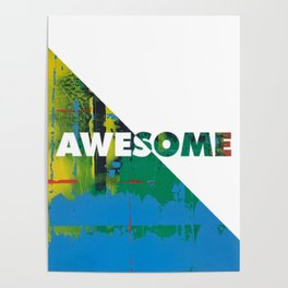 Color Chrome - Awesome graphic Poster