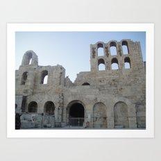 Greece - Athens Art Print