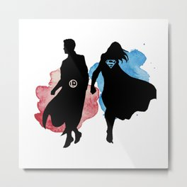 supervalor Metal Print