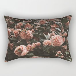 Blooming fields Botanical Flower Photography Rectangular Pillow
