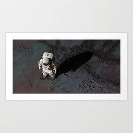 Cosmonaut 2 Art Print