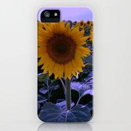 sunflower wonderland iPhone Case