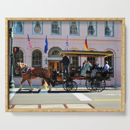 Historical Charleston Tour Serving Tray