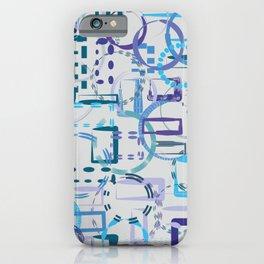 From regular to irregular shapes - single pattern iPhone Case