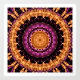 Mandala Self-esteem Art Print