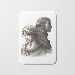 The Witcher 3 - Ciri / Geralt Artwork Bath Mat