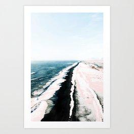 Pink Sand #society6 #decor #buyart Art Print