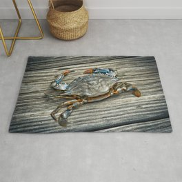 """Busted Peeler"" - Maryland Blue Crab Rug"