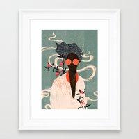 Framed Art Prints featuring Kalemba I by Willian Santiago