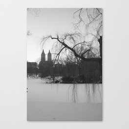 New York Snow Canvas Print