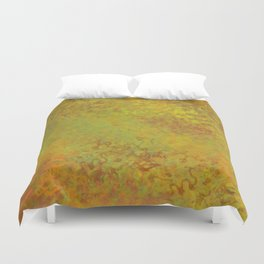 Liquid Hues Illustration, Digital Watercolor Artwork Duvet Cover
