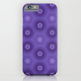 Fractal Cogs n Wheels in DPA02 iPhone Case